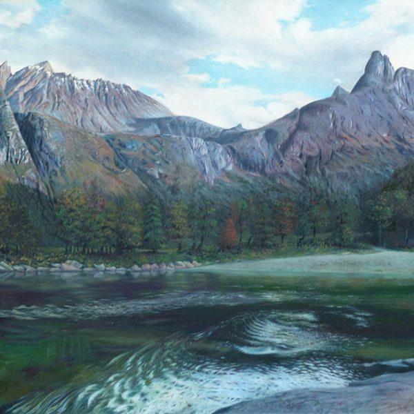 Romsdalen ved Raumas bredde